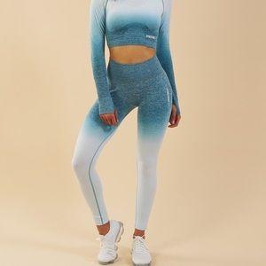 Gymshark ombre seamless legging